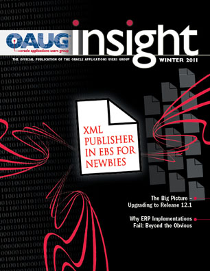 OAUG Insight Magazine Winter 2011